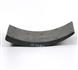 DZ9112340063 Накладка тормозная задняя 10 отверстий SHAANXI CREATEK