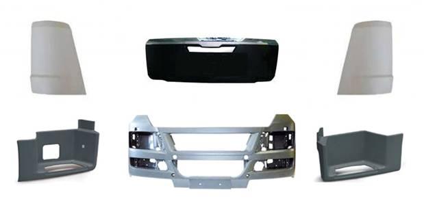 Пластиковые детали для грузовиков